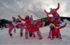 équipe féminine Ski Alpin