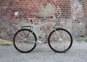 vélo urbain manivelle