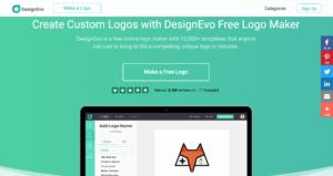DesignEvo création logo